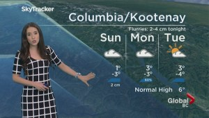 BC Evening Weather Forecast: Feb 25