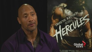 Dwayne 'The Rock' Johnson talks Hercules