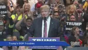 Can presumptive Republican nominee Trump win over GOP establishment?