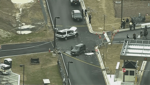 Raw video:  Security incident at NSA headquarters, Fort Meade
