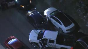 Scary high-speed chase in L.A. comes ends after motorist intervenes
