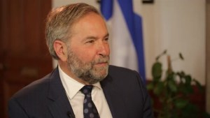 An extended conversation with NDP Leader Tom Mulcair