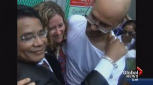 Neil Bantleman expresses gratitude for support upon release