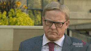 Alberta Education Minister David Eggen discusses his government's promise to reduce school fees