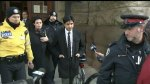 Jian Ghomeshi leaves second day of trial