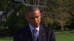 "Obama: ""We have to stop the epidemic at its source"""