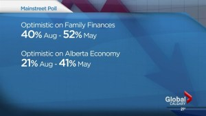 Less than half of Albertans optimistic about family finances: poll