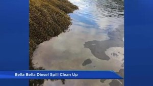 Bella Bella tug boat diesel spill called an 'environmental disaster'