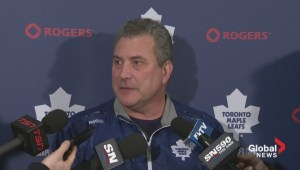 Maple Leafs coach says team prepared to deal with Mumps outbreak