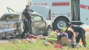 Serious crash at Nobleford intersection