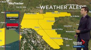 Edmonton Weather Forecast: Aug. 23