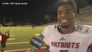 High School football player's epic post-game speech goes viral