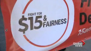 Canadian Workers call for increase in minimum wage