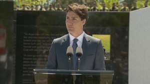 'We fought like lions,' Justin Trudeau says as newest war monument unveiled