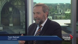NDP shift: Tom Mulcair and his pragmatic approach to defining party values