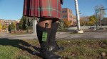 Community rallies behind Montreal bagpiper