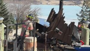 Family narrowly escapes house fire on Buffalo Pound Lake