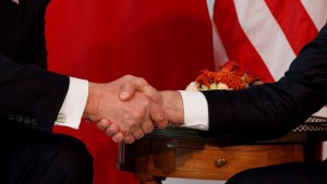 The psychology behind Trump's strange handshakes