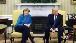 The psychology behind Trump's strange handshakes