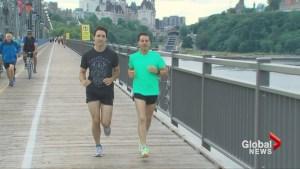 Trudeau, Nieto take morning jog through Ottawa during state visit