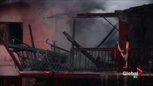 Nine people homeless after fire in Surrey
