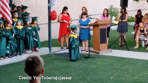 5-year-old gives greatest graduation speech ever