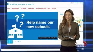 New Edmonton schools to be named by the public