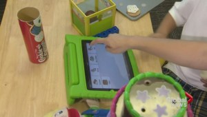Autism and tablets