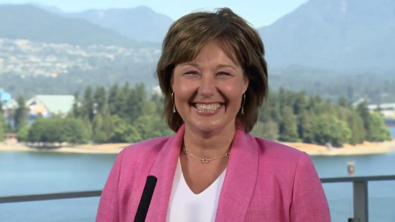 Christy Clark says it was