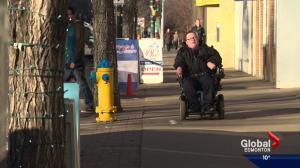 Edmonton neighbouhood gets accessibility makeover