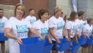 Jamie Orchard takes on Ice Bucket Challenge