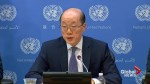 China's UN ambassador says it's up to U.S., N.Korea to ease tensions, not China