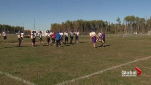 Moncton High School students and parents upset about the size of their football field