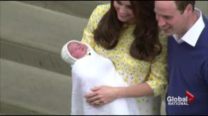 Newest member of royal family is named
