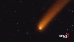 Comet passing Mars giving new insight to astronomers