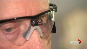 Blind people receiving new bionic eyes to see