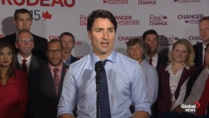 Trudeau questions Harper's values for campaigning with Rob Ford