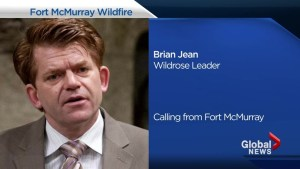 'I understand my own home is in flames': Wildrose Leader Brian Jean