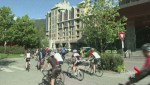 Cyclists honour cyclists in Whistler