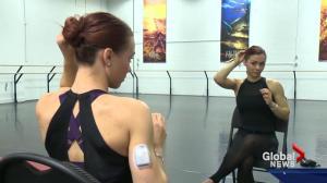 Edmonton dancer doesn't let diabetes hold her back