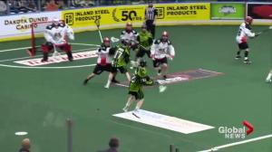 Saskatchewan Rush win 12-11 in OT thriller versus Calgary Roughnecks