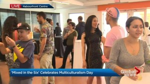 Celebrating being 'Mixed in the Six' on multiculturalism day