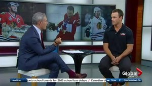 NHL star Jonathan Toews on the NHL's Olympic ban