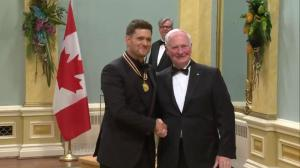 Michael Buble receives National Arts Centre Award