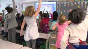 Frigid temperatures mean indoor recess for Edmonton students