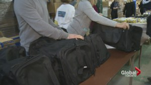 Winter kits given out to Toronto homeless to help keep warm