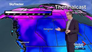 Edmonton Weather Forecast: March 25