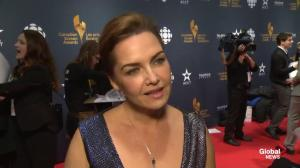 CSA red carpet: Global National's Dawna friesen