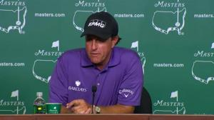 The Masters: Phil Mickelson on getting in shape for the tournament