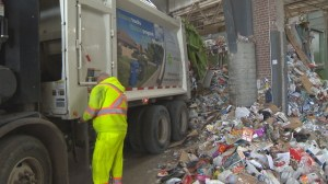 Recycling on the rise